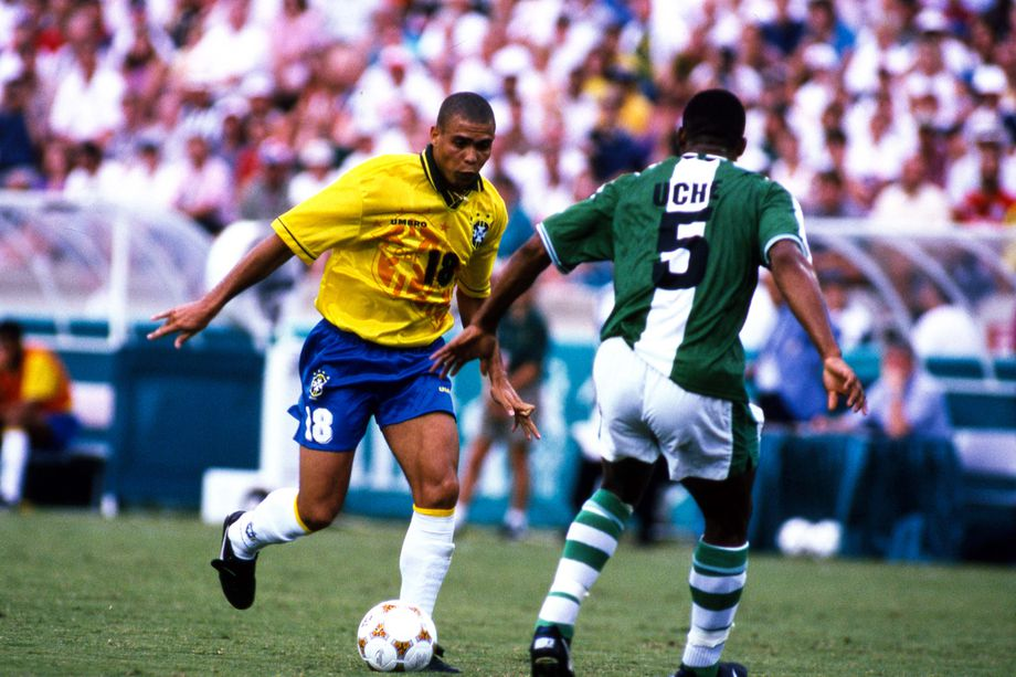 The Brazilian Ronaldo was the first soccer player I loved