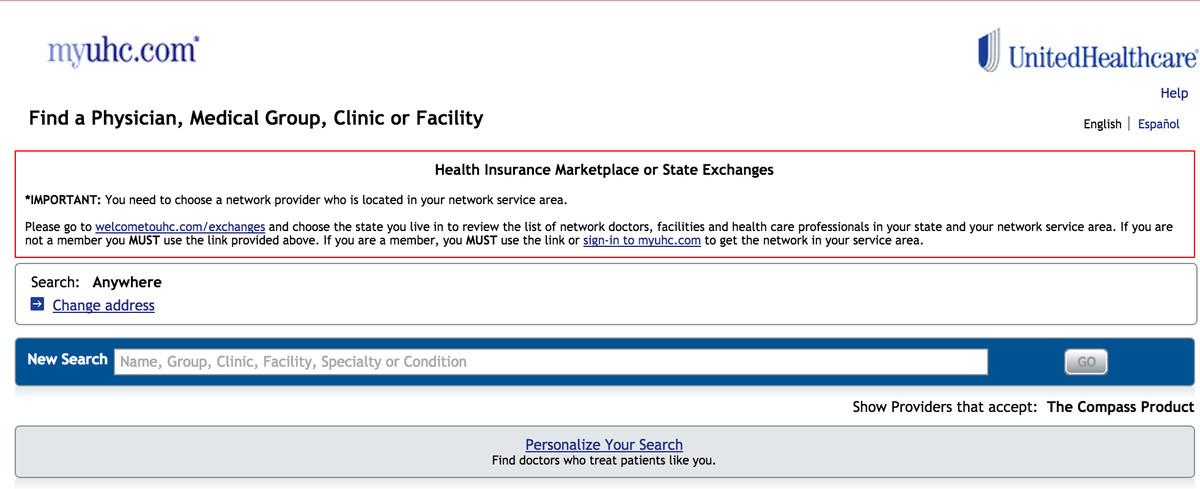 unitedhealth directory