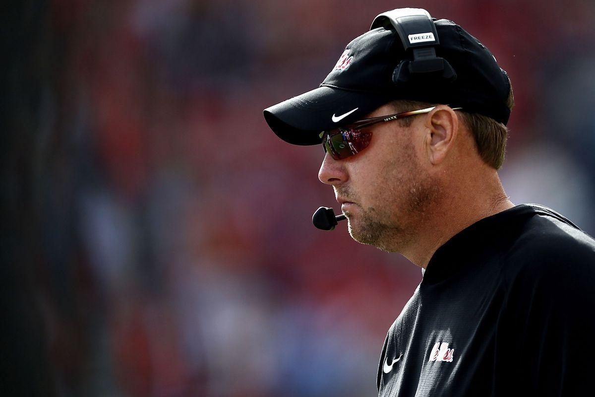 Hugh Freeze resigns as Ole Miss head football coach