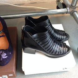 3.1 Phillip Lim peep toe booties, $250 (from $625), only available in size 39