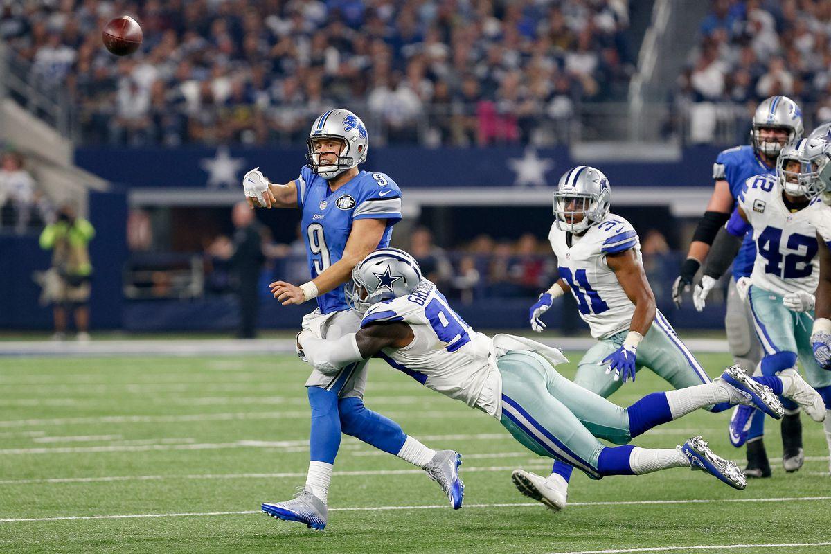 NFL: DEC 26 Lions at Cowboys