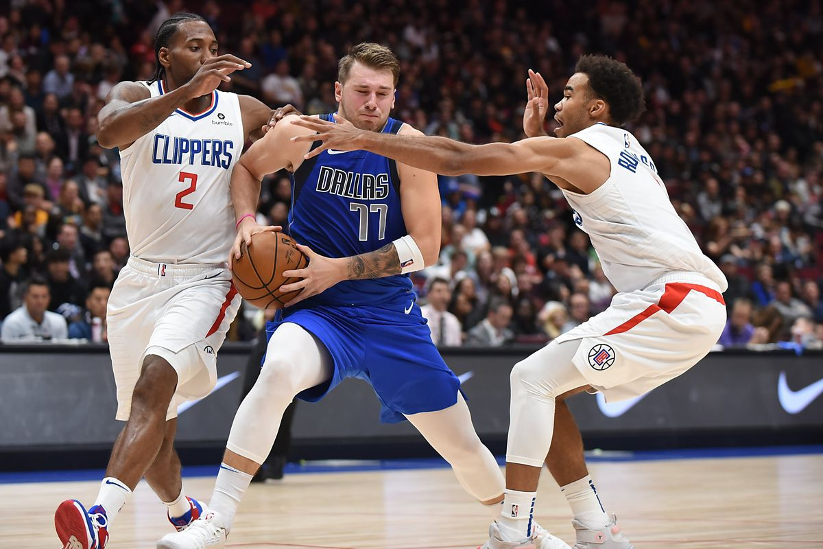 The Clippers Gave Luka Doncic S Mavericks The Ultimate