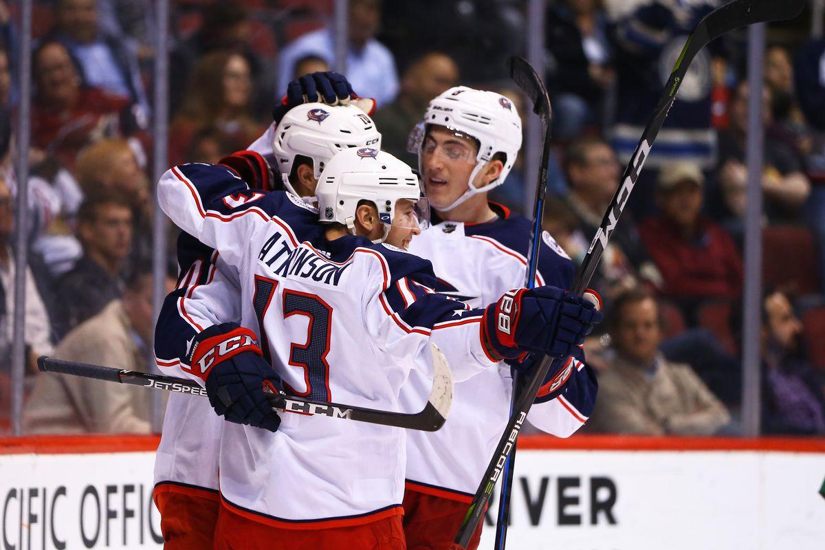 NHL: Columbus Blue Jackets at Arizona Coyotes