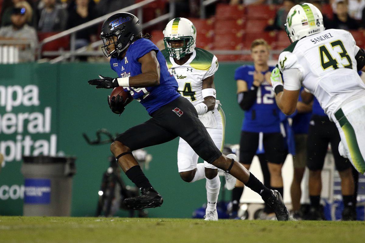 NCAA Football: Tulsa at South Florida