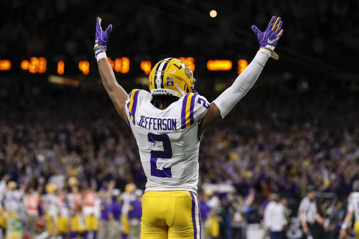 49ers news: Is LSU's WR Justin Jefferson worth a first round pick ...