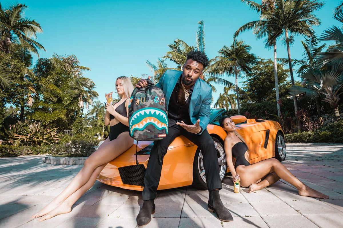 054ed49242eb Sprayground set to release limited edition Jarvis Landry Shark backpack