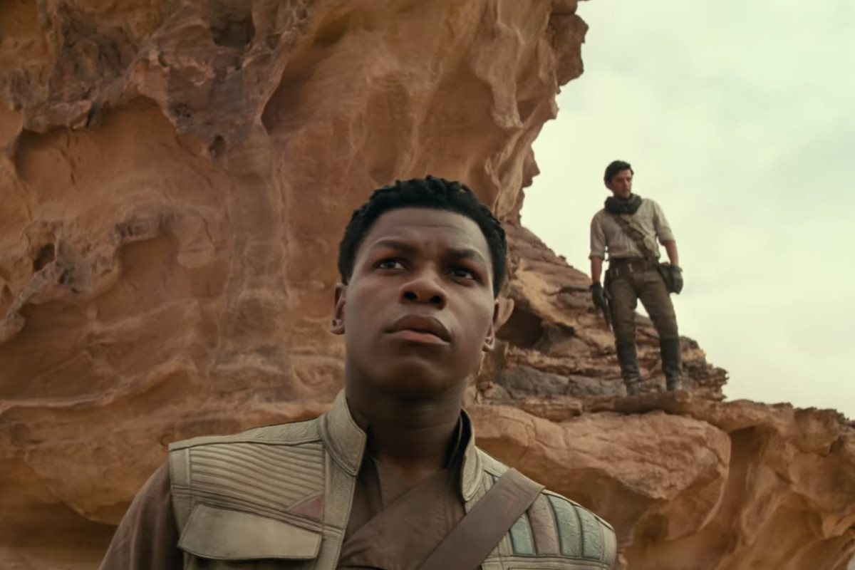 Image result for Rise of the skywalker trailer pics