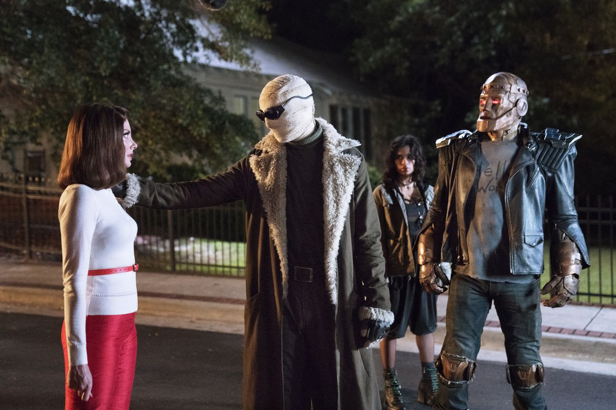 DC Universe's new Doom Patrol show may not be weird enough to stand
