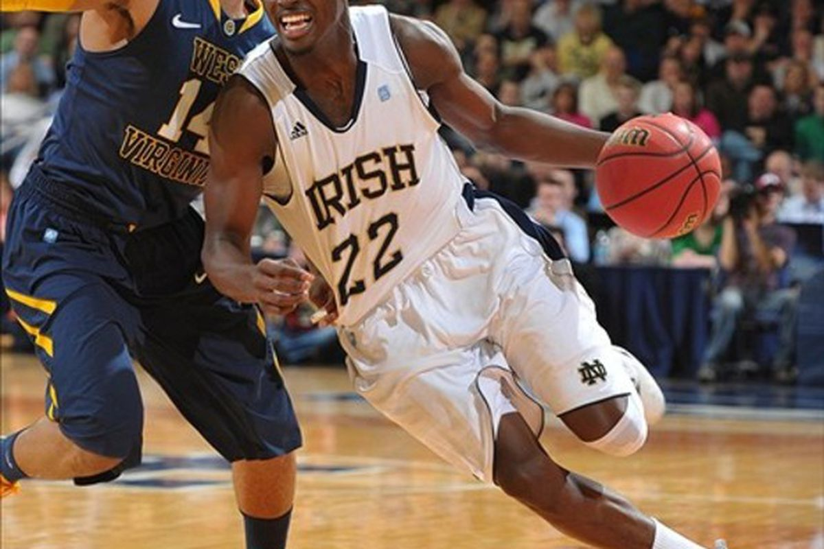 """Jerian Grant and the Fighting Irish are looking for Garden comforts; can St. John's give them a rude welcome <a href=""""http://www.rumbleinthegarden.com/2011/1/16/1939144/game-16-st-johns-crushes-the-9-irish-72-54"""">like last year's team did</a>?"""