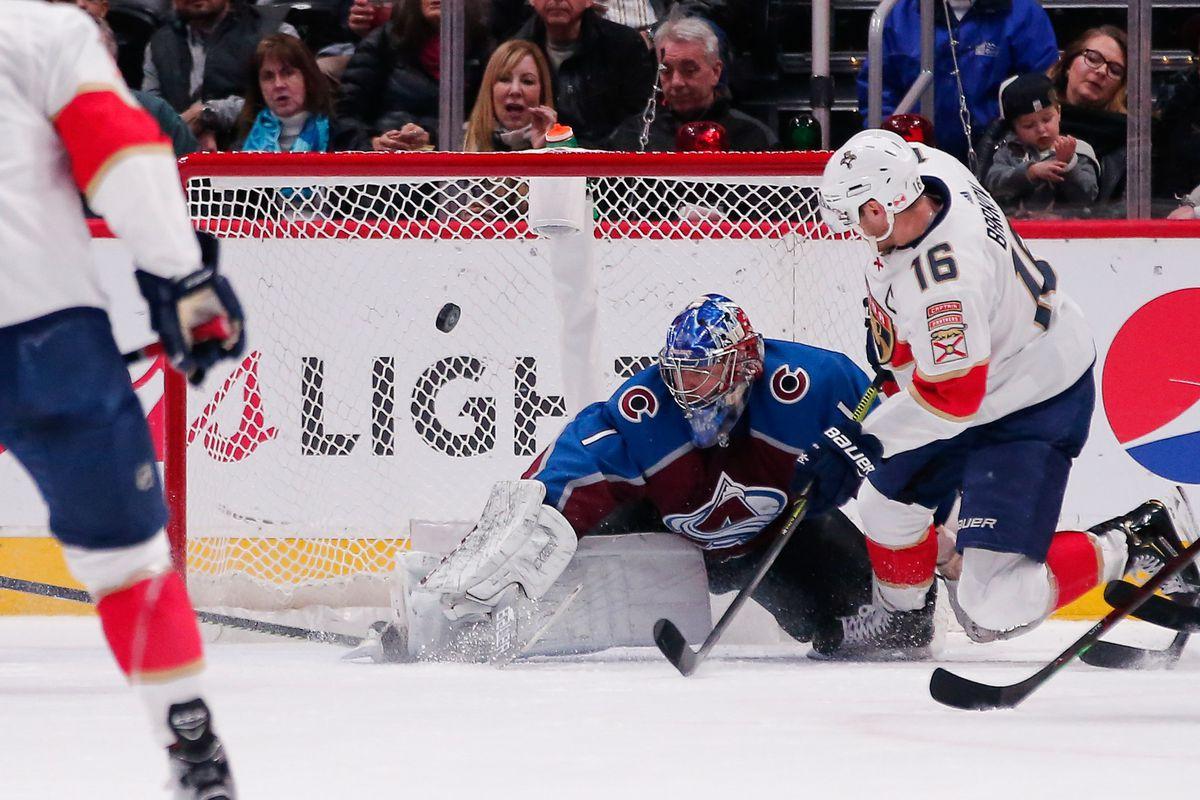 NHL: Florida Panthers at Colorado Avalanche