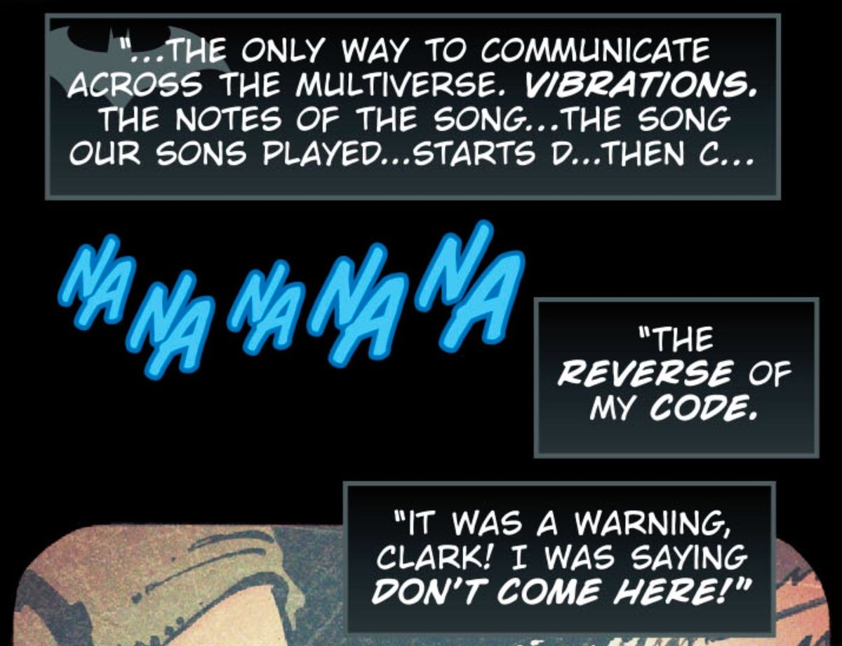 From DC Comics' Batman: Metal #3 (2017), a part of the Dark Nights: Metal crossover.