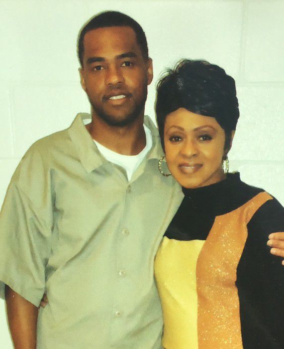 Trent Copeland and mother
