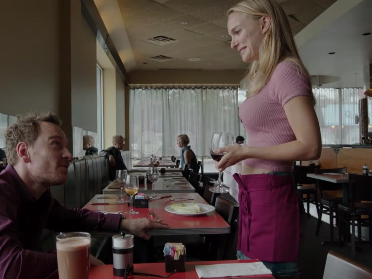 Michael Fassbender and Natalie Portman at Asti in Song to Song