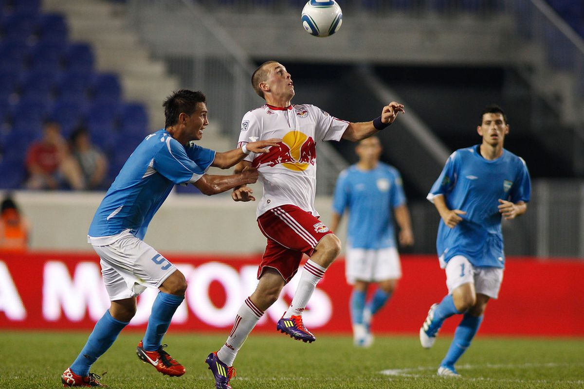 Corey Hertzog shot the Red Bulls Back into the game against FC New York in the Third Round. Hans Backe will be relying on him again in Chicago.