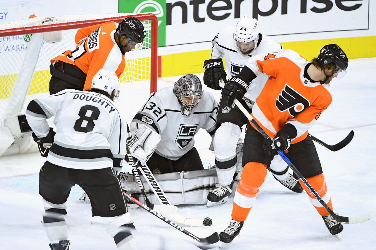 NHL: Los Angeles Kings at Philadelphia Flyers