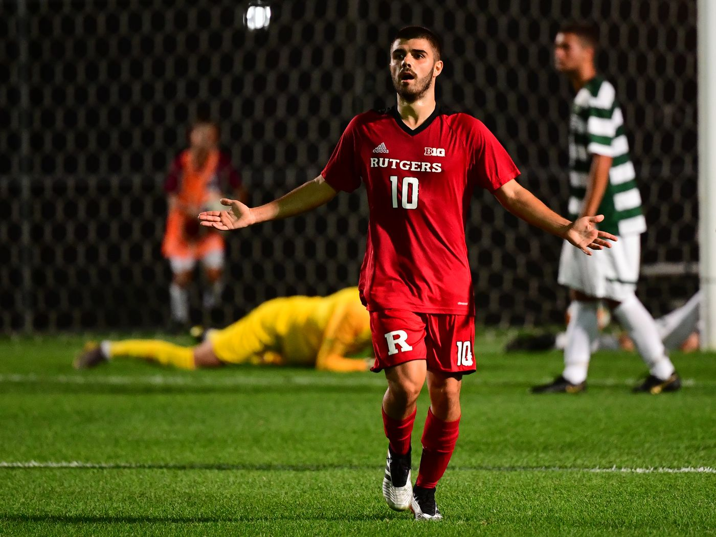 No. 22 Rutgers men's soccer remains unbeaten with 2-1 win over Saint Peter's