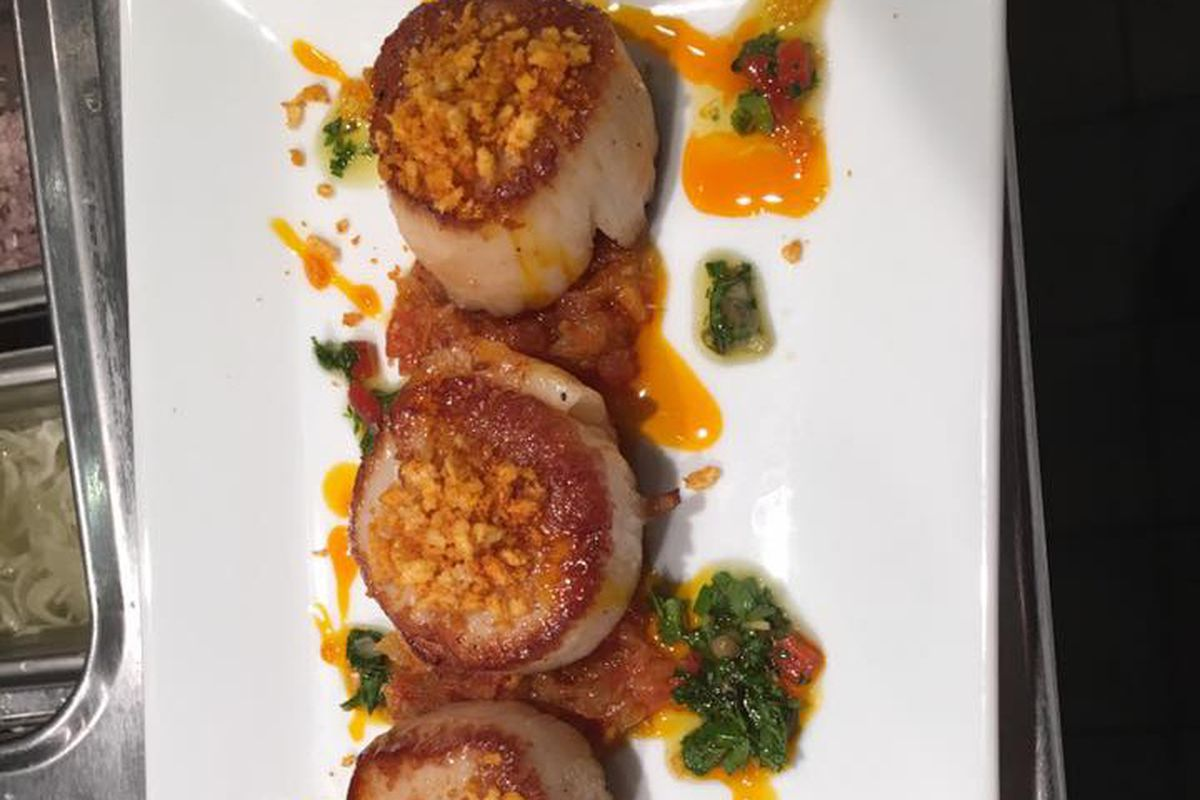 Scallops from the upcoming TapaBar