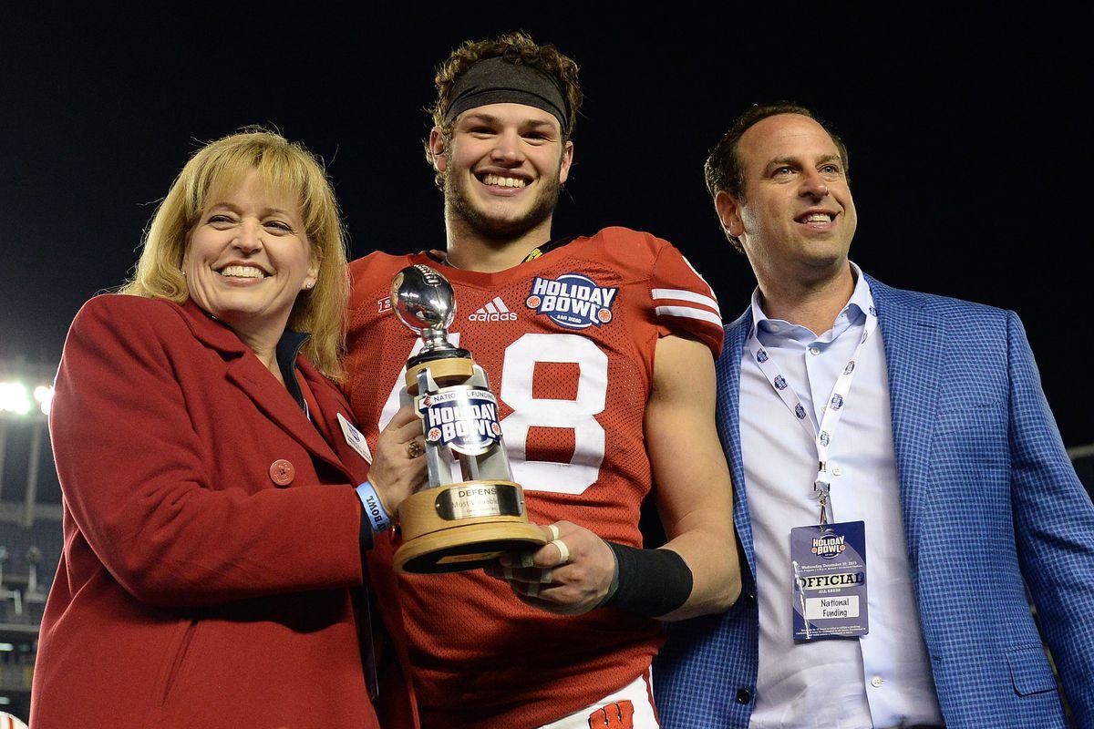 NCAA Football: Holiday Bowl-Southern California vs Wisconsin