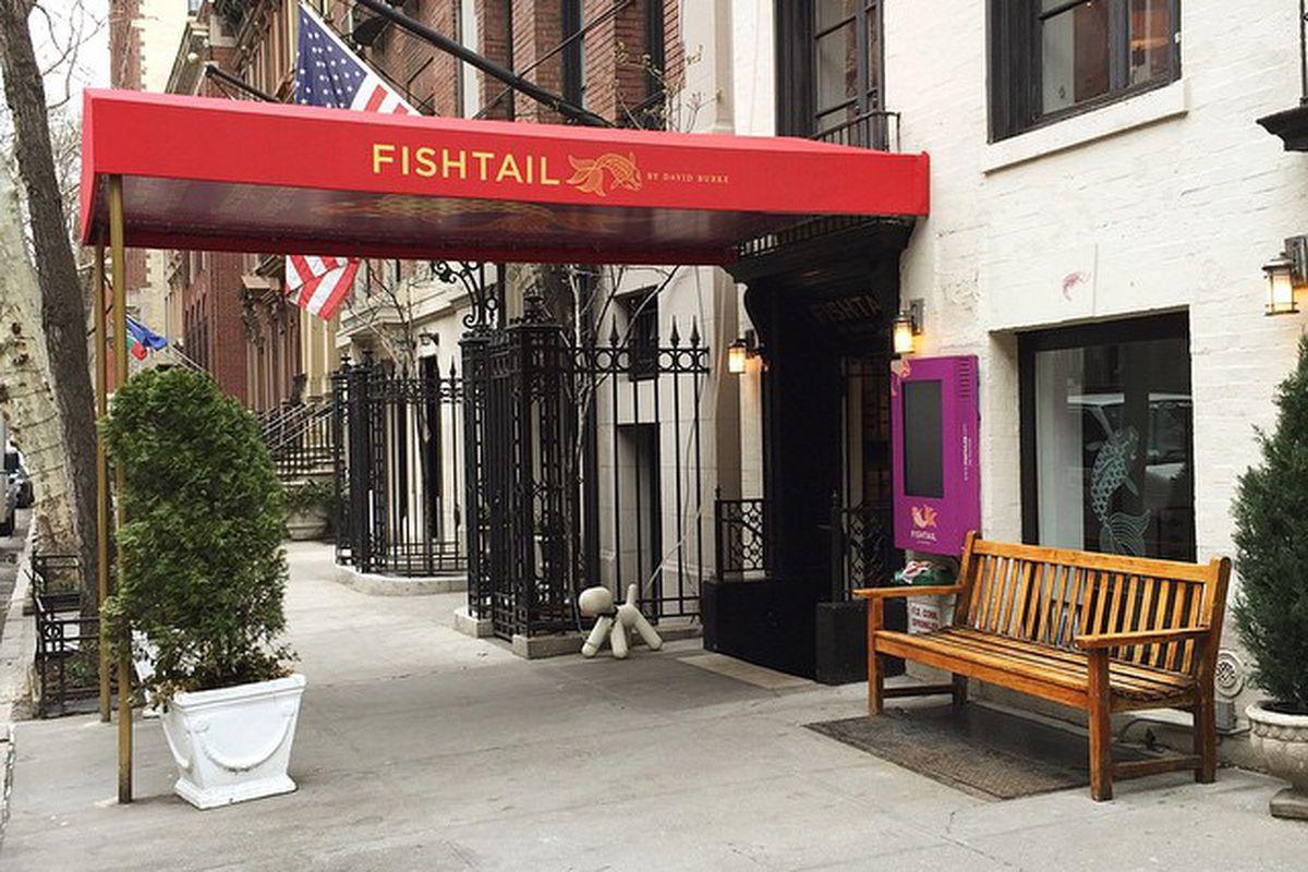 [David Burke Fishtail Entrance]