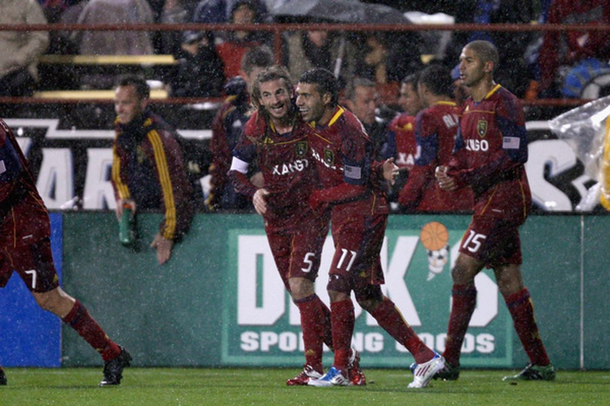 Beckerman and Morales - the Heartbeat of the Salt Lake Midfield