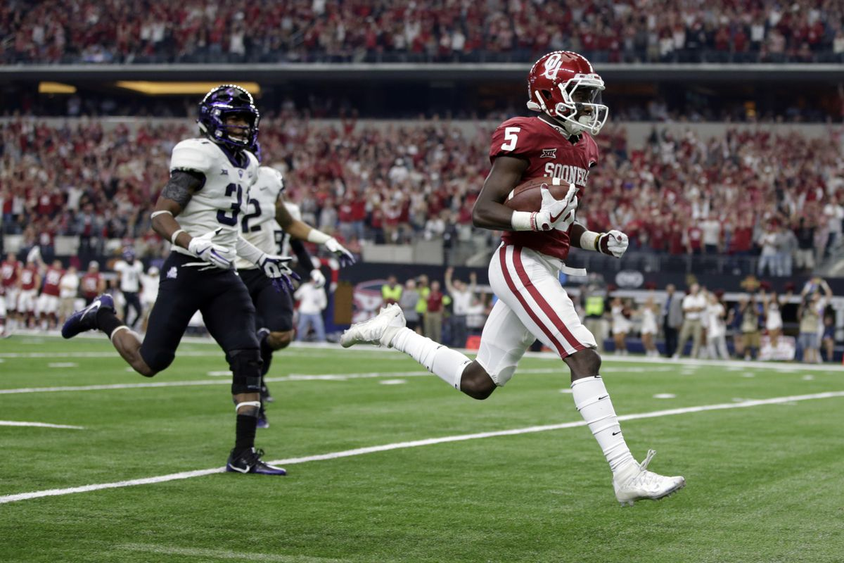 NCAA Football:  large 12 Championship-Texas Christian vs Oklahoma