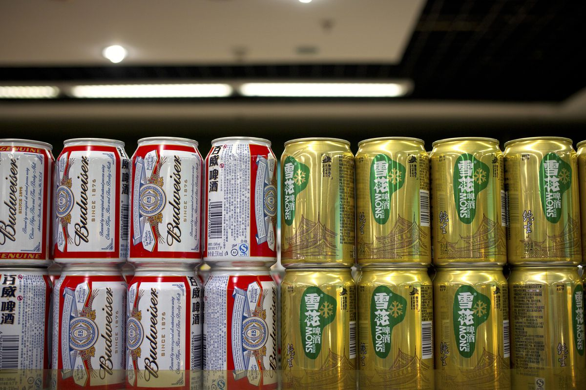 sabmiller in china The company is the leader in the chinese super-premium beer section the huge  debt load coming forth of the acquisition of sabmiller seems.