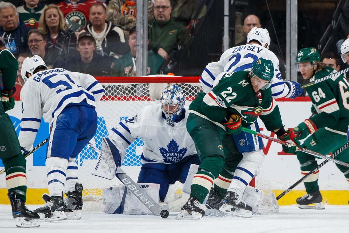 Leafs vs. Wild Preview  Playing Minnesota - Pension Plan Puppets 492e030ee