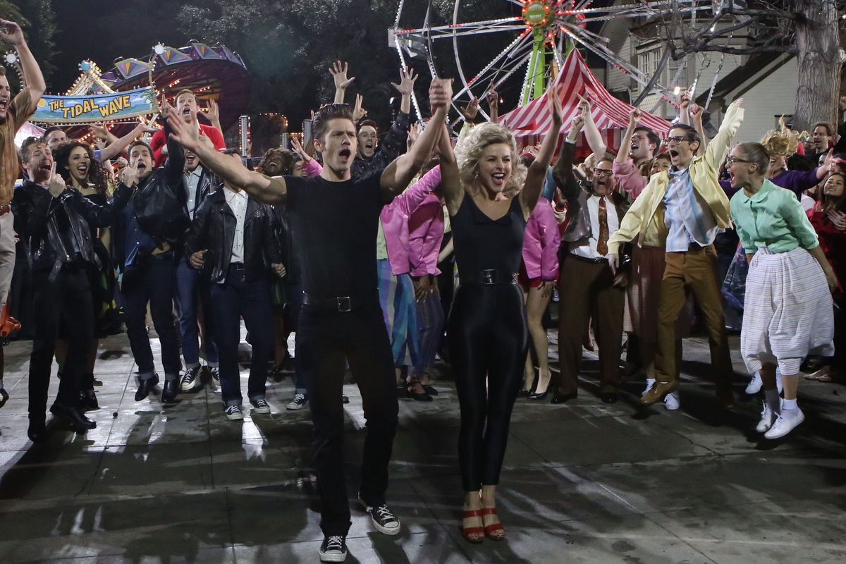 Fox's Grease Live was a slick production that couldn't