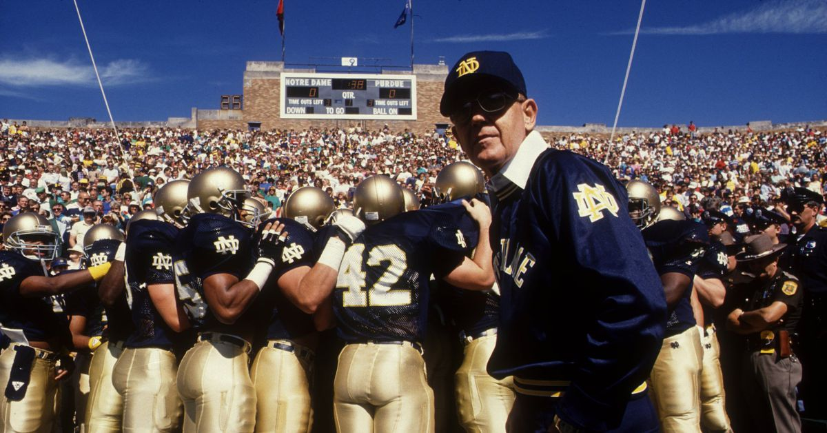 Legendary Notre Dame Coach, Lou Holtz, on 'Undeniable' with Joe Buck - One F...