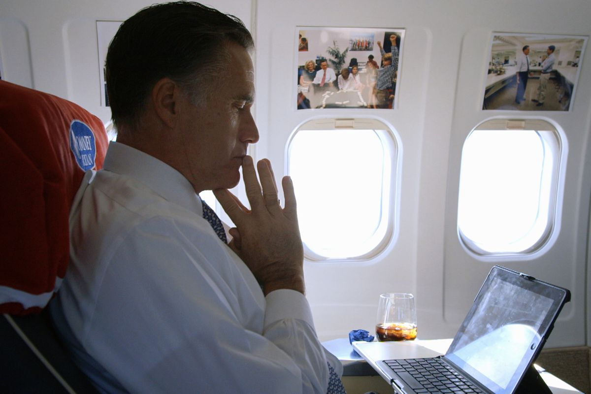 Mitt Romney in the Netflix documentary Mitt