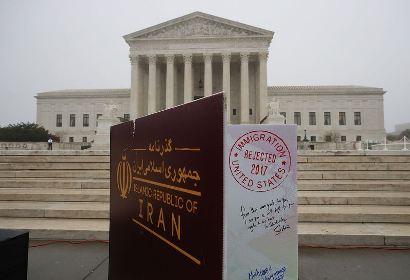 U.S. Supreme Court Hears Oral Arguments On Trump Travel Ban