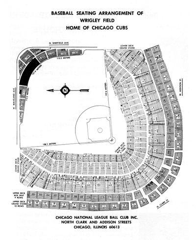 1978 seating chart