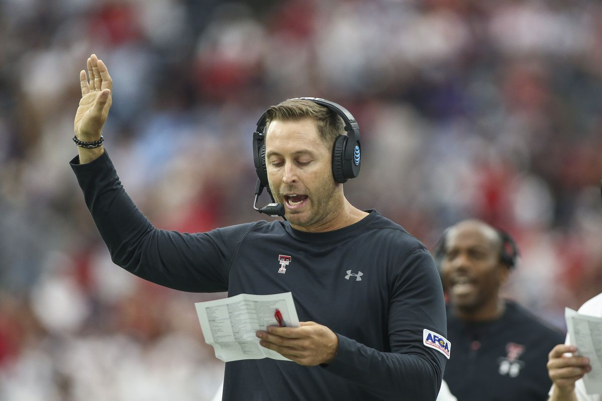 kingsbury kliff head coach texas tech coaches staff cardinals arizona should cowboys immediately today would nfl added why football usa