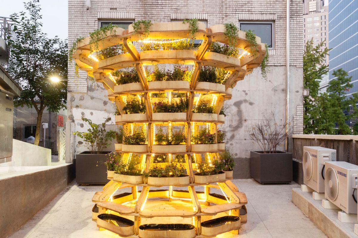 modular urban gardening system
