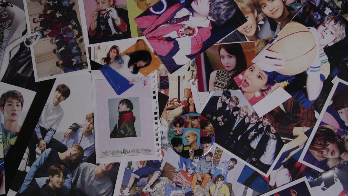 Celebrity Beauty: A collage of K-pop stars.