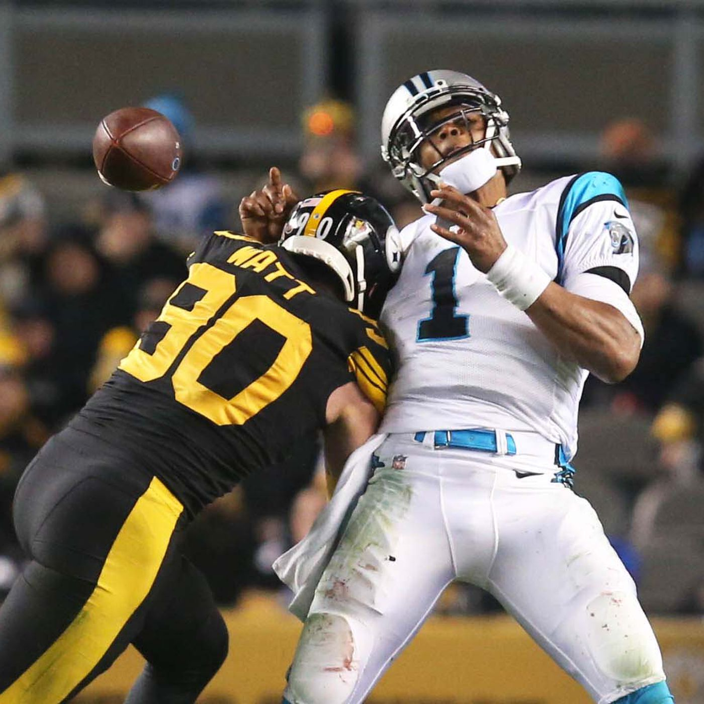 a62b2f9fb Panthers at Steelers final score  Panthers bamboozled by Steelers in 52-21  loss - Cat Scratch Reader
