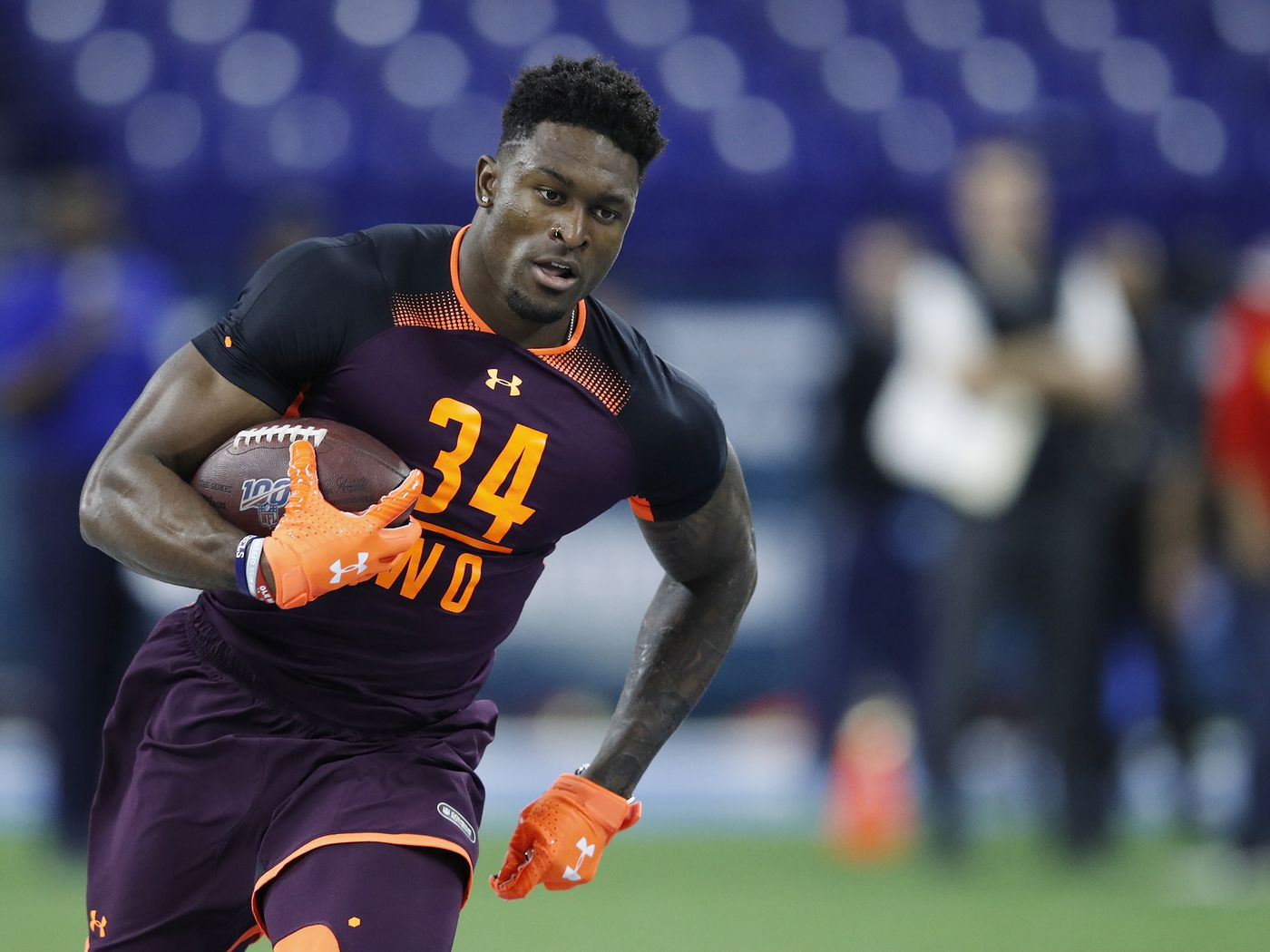 Nfl Combine Results D K Metcalf Offers Up A Crazy Split Of Highs And Lows Niners Nation