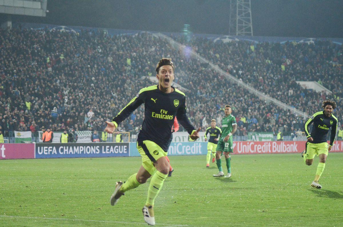 Ludogorets Razgrad v Arsenal FC - UEFA Champions League