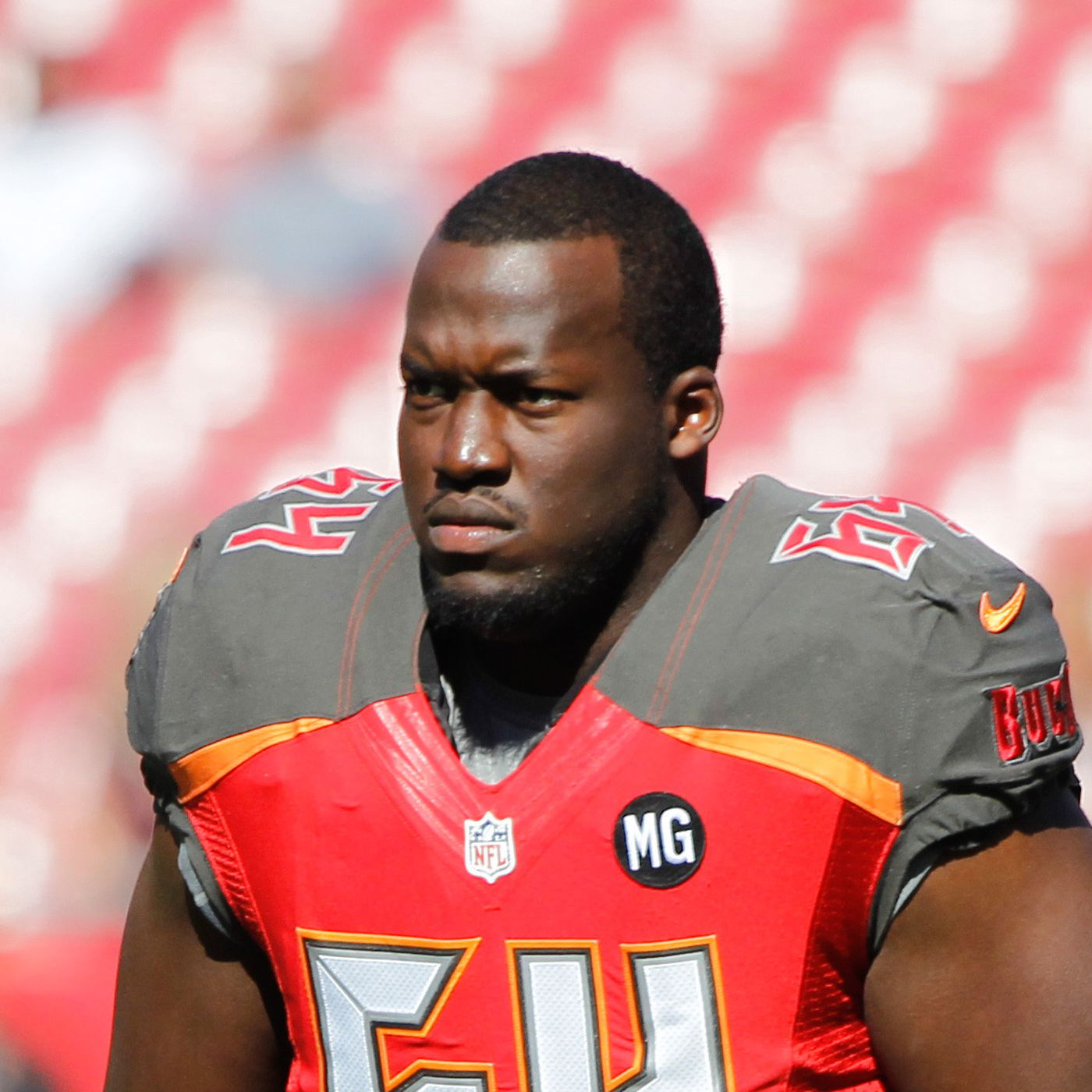 new product eab1a 0e831 Kevin Pamphile showed potential in Sunday's game - Bucs Nation