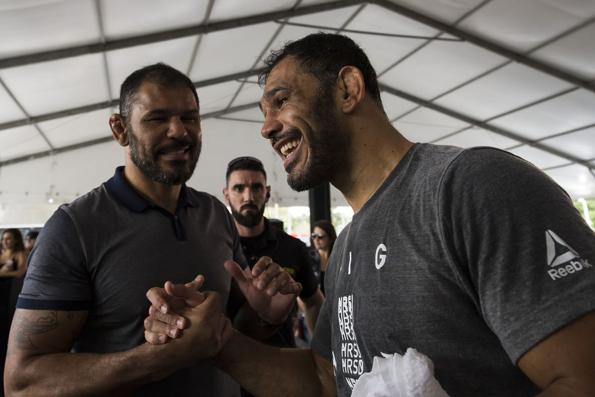UFC Fight Night Santos vs Anders: Open Workouts