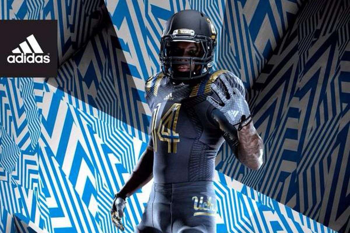 4725bb350 UCLA Football Unveils New Alternate Uniform  LA Steel - Bruins Nation