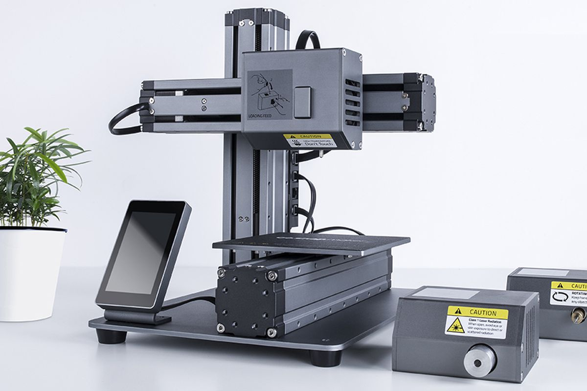 This modular 3D printer can turn into a CNC machine or ...
