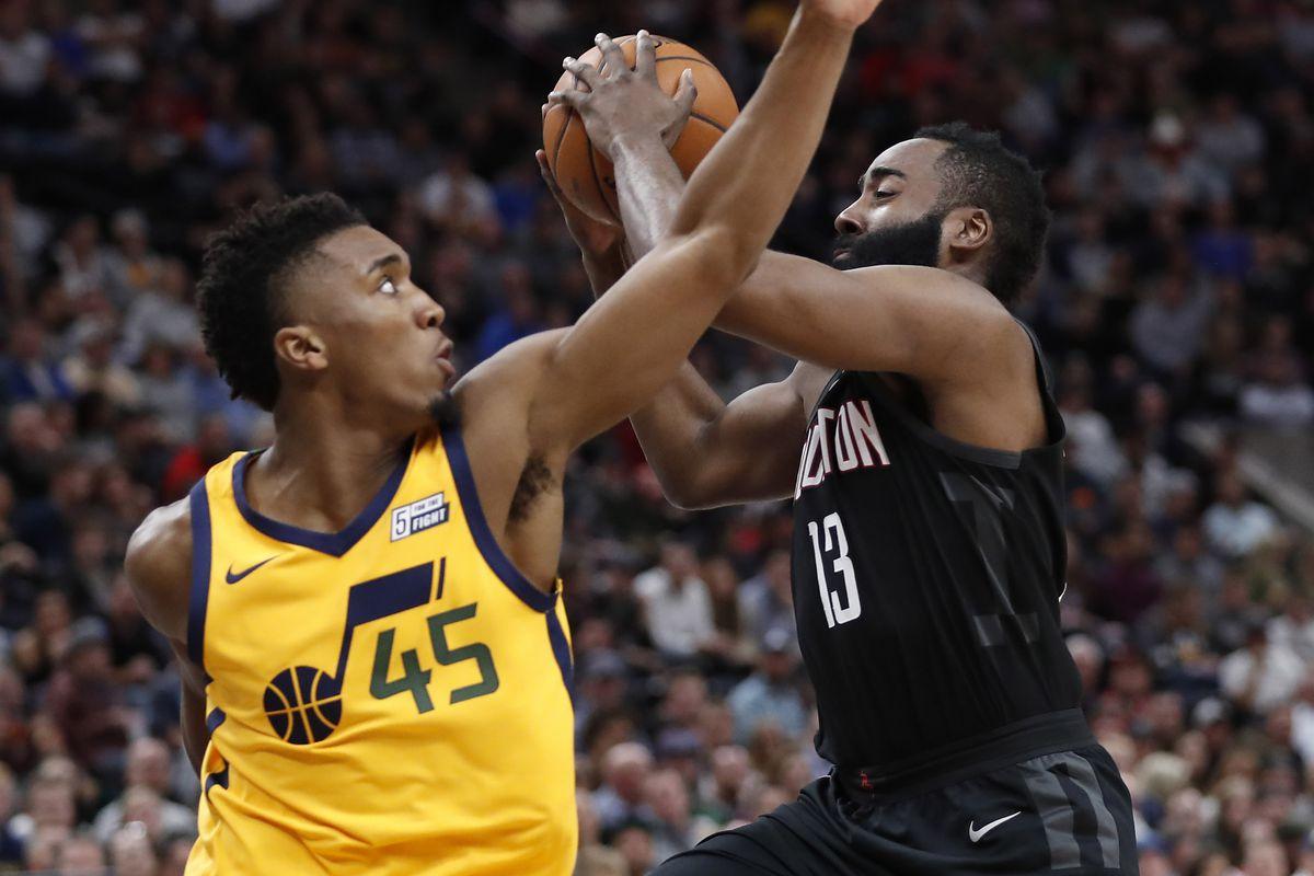 NBA: Houston Rockets at Utah Jazz