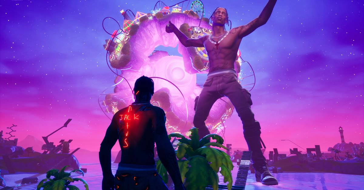 Travis Scott's first Fortnite concert was surreal and spectacular thumbnail