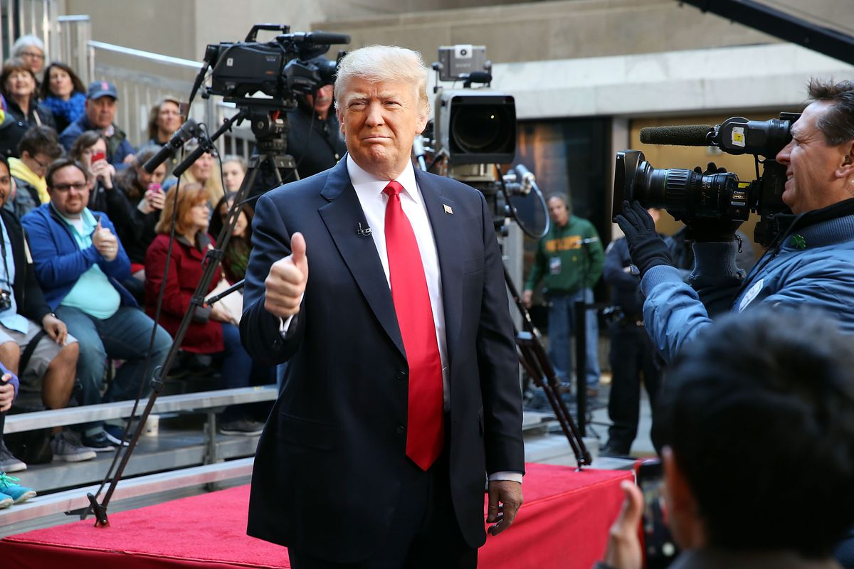GOP Presidential Candidate Donald Trump Takes Part In NBC Town Hall