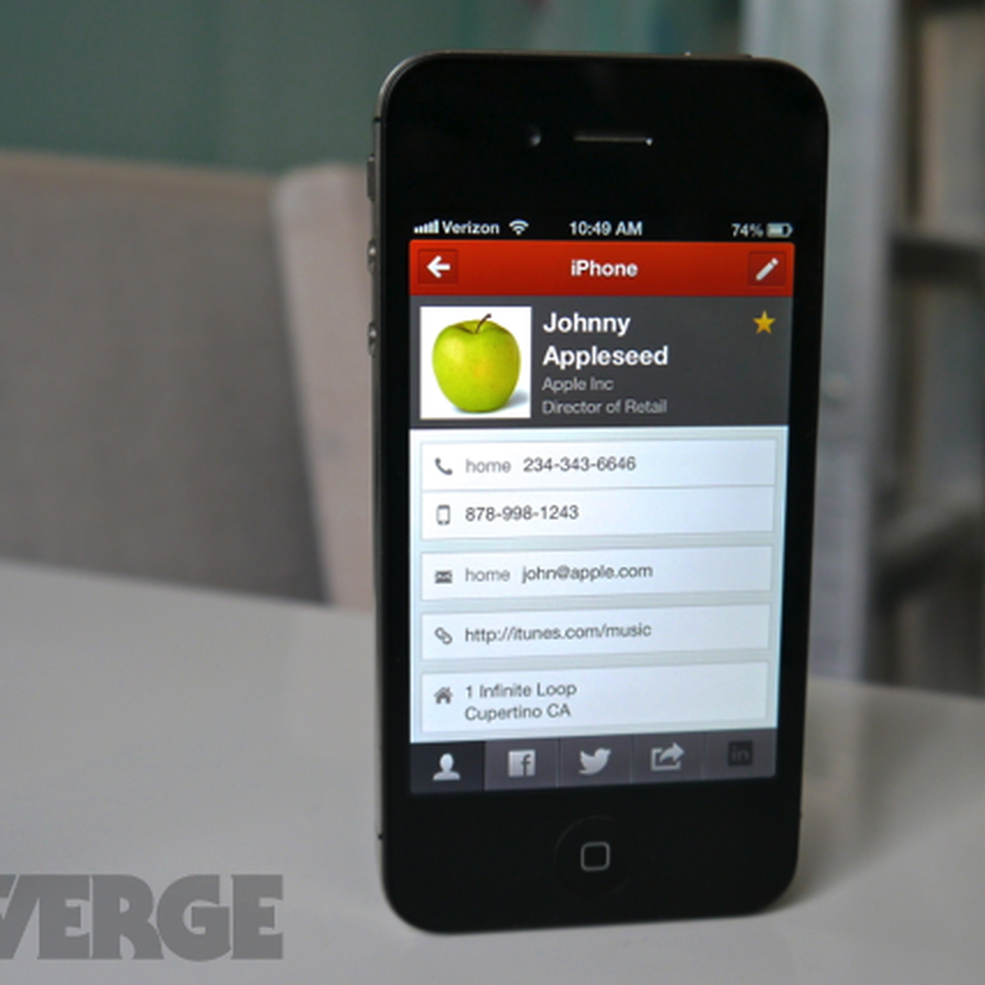 cobook for iphone finally a good way to manage your contacts on the go the verge
