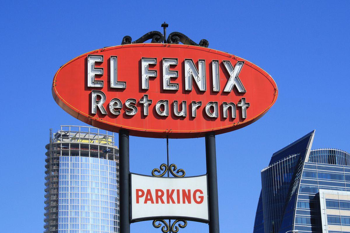 The original El Fenix in downtown Dallas.