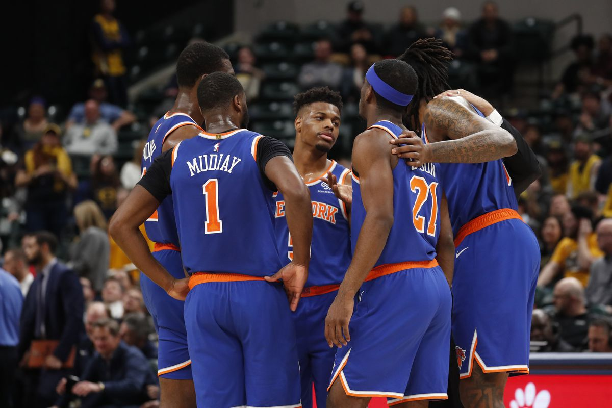 """best loved 93e7a d84de Pacers 103, Knicks 98: """"Giants just traded Odell"""" - Posting ..."""
