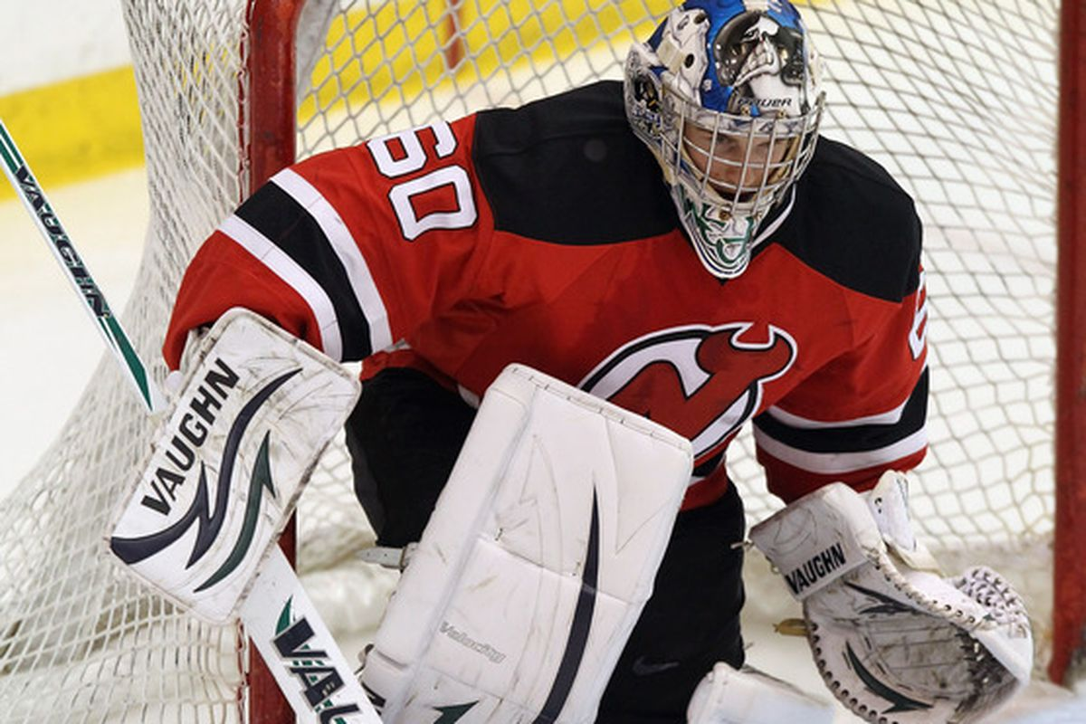 Scott Wedgewood recorded his first professional shutout this week.