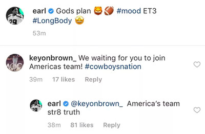 We all know Earl Thomas wants to be on the Cowboys